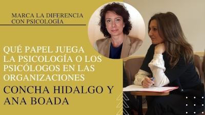 Concha Hidalgo y Ana Boada
